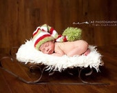 Reserved for Blye Newborn Stocking Cap
