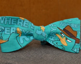 Agent P (Perry the Platypus)  Bow tie