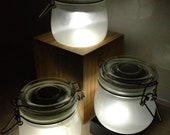 Bottled Sunlight - rechargeable solar sun jar and nightlight
