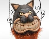 I-Scream Cone - Angry Candy Corn Kitty