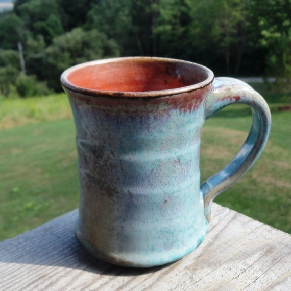 Turquoise Sunset Sky Coffee Mug