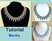 Tutorial Marika SuperDuo Necklace PDF