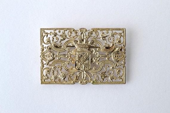 Vintage French Souvenir Brooch