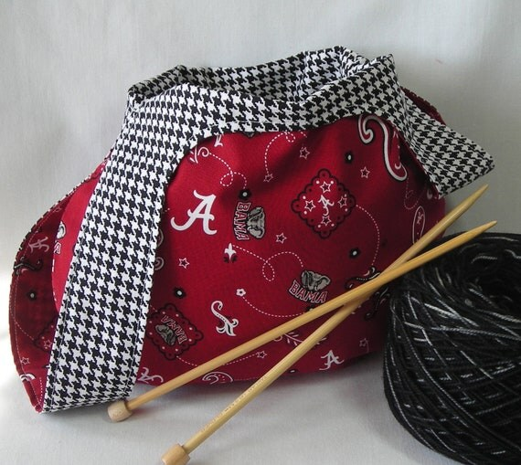 Japanese Crochet Bag : Japanese knot bag - knitting crochet sock project bag - Univ. of ...