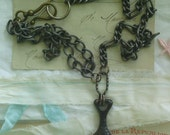 Plumb bob - Vintage Necklace