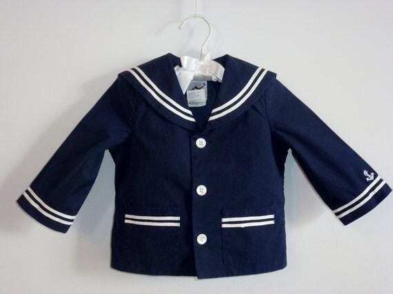 Vintage Nautical Navy Jacket