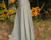 Full Length Wrap Skirt (Soy or Bamboo Organic Cotton)