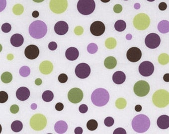 Lolli Dot in Orchid by Michael Miller - 1 Yard