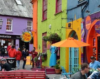 Colorful Kinsale, Ireland