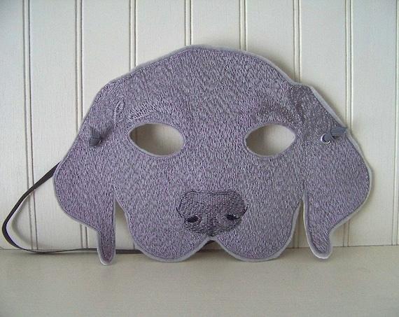 Weimaraner Mask for Adult