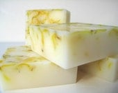 White Tea Ginger Soap - Vegan - Enriched with shea butter - glycerin soap - Gift Soap