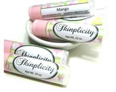 Mango Lip Balm -  Sweet and Tropical - shea and cocoa butter for your parched lips