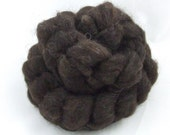 STANLEY 1 - 2 oz Natural Black Icelandic Wool Roving