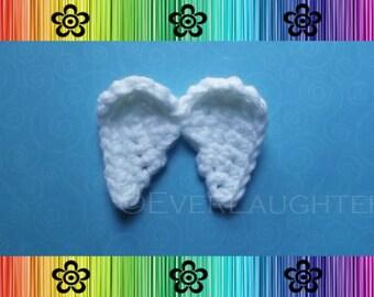Angel Wings Applique - CROCHET PATTERN (PDF)