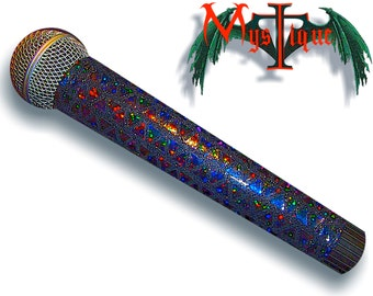 BLING  MICROPHONE COVER (Mystique) for Cordless Microphones