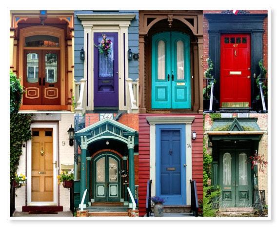 Doors Photograph Urban Neighborhood Print Door Collection
