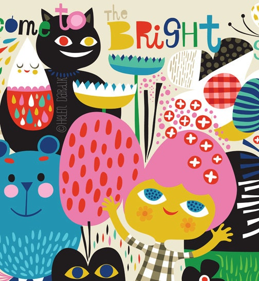 Come To The Bright Side Limited Edition Giclee By