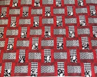 Modern Black & White Quilt