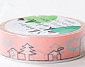 Shinzi Katoh Masking Tape - Houses