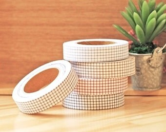 Decollections Fabric Masking Tape - Checks
