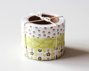 Nuage Fabric Masking Tape - Seed - Set 3