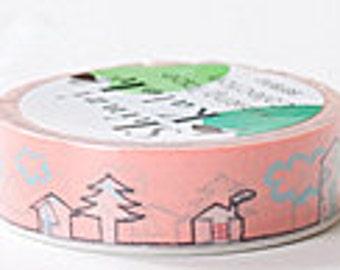 Shinzi Katoh Masking Tape - Houses