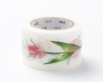 mt ex Washi Masking Tape - Flowers