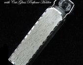 BLACKINTON Sterling Crystal Perfume c 1910 Antique Perfume Vial