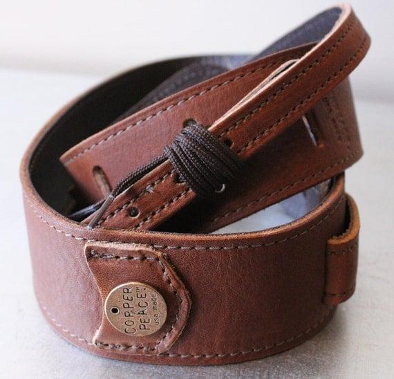 homerun leather banjo strap by copperpeace on etsy. Black Bedroom Furniture Sets. Home Design Ideas