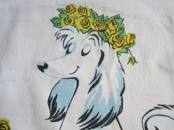 SOLD/RESERVED for ASHLEE Vintage Dog Towel Hi Dri Depler