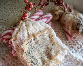 Primitive Peppermint Twists Set of 5 OFG Team Made To Order Only