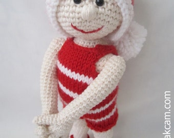 Amigurumi Christmas Doll Pattern