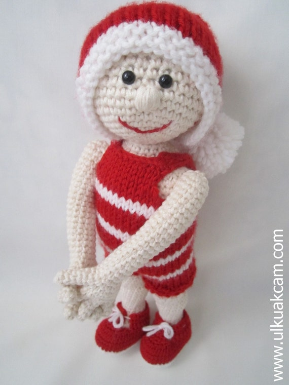 Amigurumi Christmas Doll Pattern