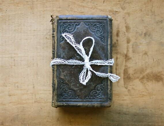 Ancient Words - Antique 1856 George Herbert Book - The Words of George Herbert
