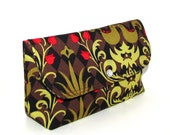 Damask Birdie Cosmetic Pouch - Use code: 50OFF at checkout and get this and all other items half price.