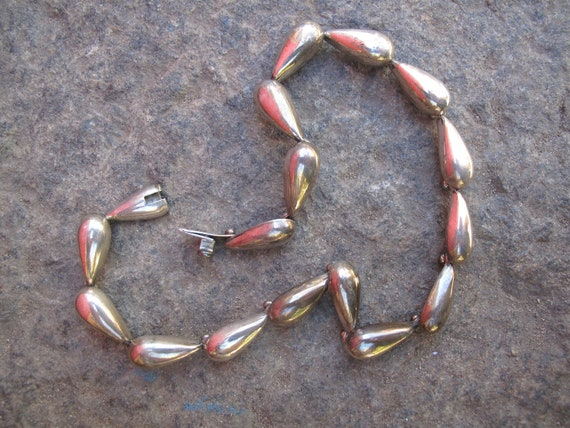 Reserved Do Not Buy Vintage Mexico Stamped 925 Sterling Silver Link Necklace