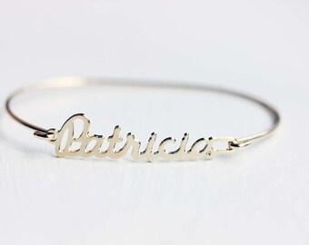Vintage Name Bracelet - Patricia