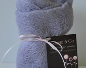 Newborn Photography Wrap - Baby Boy or Baby Girl - Cheesecloth Wrap - Maternity Photo Wrap - Photography Prop - GRAY