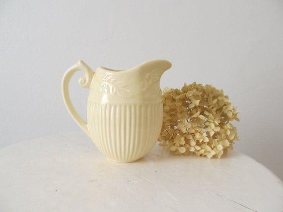 Small Vintage Ceramic Pitcher