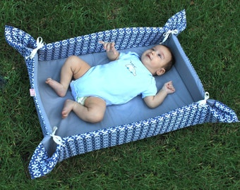 Baby Boy Play Mat On Sale Crib Mat In Blue Free Shipping