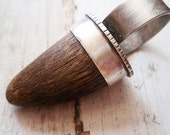 antler ring... authentic natural horn