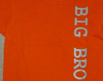 New Big Brother Shirt Custom Shower Gift