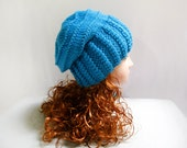 Knitted Hats- Slouchy Beanie Hat, Wool Hat Slouchy Beanie, Slouch Hat, Slouch Beanie, Knitting Hats