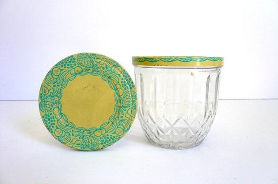 Vintage Jelly Jars (2)