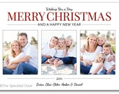 Classic Christmas Custom Photo Cards
