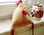 Crochet Pattern - Hen, DIY