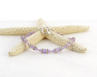 Swarovski Bracelet - Violet