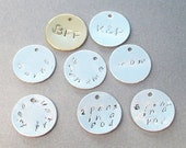 Add A Handstamped Personalized Disc