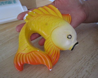 Miller Studios Fish Chalkware Hangings