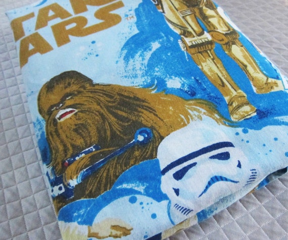 Star wars vintage sheet twin flat.